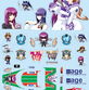 GSR Character Customize Series: Muv-Luv - 1/18 Scale Seals 02