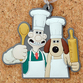 W&G Character Series: Rubber Key Holder - Wallace and Gromit