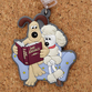 W&G Character Series: Rubber Key Holder - Gromit and Fluffles