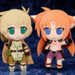Nendoroid Plus Plushie Series 33: Arf - Barrier Jacket Ver.