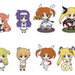 Nendoroid Petite Trading Rubber Straps: Magical Girl Lyrical Nanoha The MOVIE 1st - SCENE 02