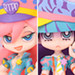Twin Pack+ : Panty & Stocking with Chuck + galaxxxy