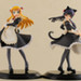 Displayed with the previously announced 'Kirino Kousaka: Maid Ver.' (Sold seperately)