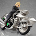 Displayed with figma Saber Zero ver. riding the bike. Recreate your favorite scenes! (sold separately)
