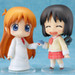 Display her together with Nendoroid Nano Shinonome to recreate various scenes from the show! (sold separately)