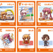 6 brand new miniature Moekana cards!