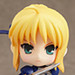Nendoroid Petite x Mini 4WD Saber drives Super Saber Special