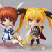 Displayed with Nendoroid Nanoha Takamachi: Excelion Mode Edition! (sold separately)