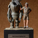 S.A.F.S & Pilot Original Cast Sculpture