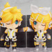 Displayed together with her twin sister, Nendoroid Kagamine Rin! (sold separately)