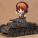 A turret that can be connected to the Tank #IV D-type released by PLATZ is included! (The tank itself is sold separately)