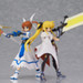 Displayed together with figma Nanoha Takamachi: Excelion Mode ver. (sold separately)