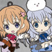 Nendoroid Plus: Is the Order a Rabbit? - Cocoa / Chino / Rize / Chiya / Syaro Rubber Straps