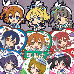 LoveLive! Rubber Strap Collection / Rubber Magnet Collection / Metal Charm Collection