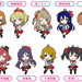 Nendoroid Plus Rubber Straps: LoveLive! 01