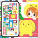 wooser's iPhone 6 Case (Secret Base / Analog Room / A Day in the Life of oshirase wooser)