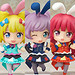 Nendoroid Co-de Bunny Magician Co-de / Bright Green Bunny Magician Co-de / Bunny Magician Royal Co-de