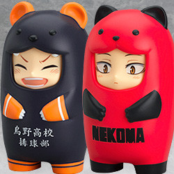 Nendoroid More: Haikyu!! Face Parts Case (Karasuno High School / Nekoma High School)