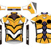 EVANGELION Cycling Jersey: Unit-00/0120-02