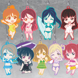 Nendoroid Plus Collectible Rubber Straps: LoveLive!Sunshine!! Swimsuit Ver.