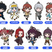 A Certain Magical Index III Nendoroid Plus Collectible Keychains