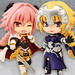 "Toy'sworks Collection Niitengo premium Fate/Apocrypha Black Faction Rider of ""Black""/Assassin of ""Black""/Berserker of ""Black""/Saber of ""Black""/Ruler"